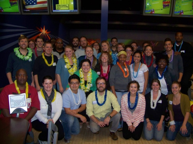Meet the team at CIP's Employment and Community Services, competing in the Brunswick Team Challenge