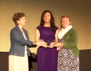 Cassy Davis Receives 2013 Wendy Wood Emerging Leader Award