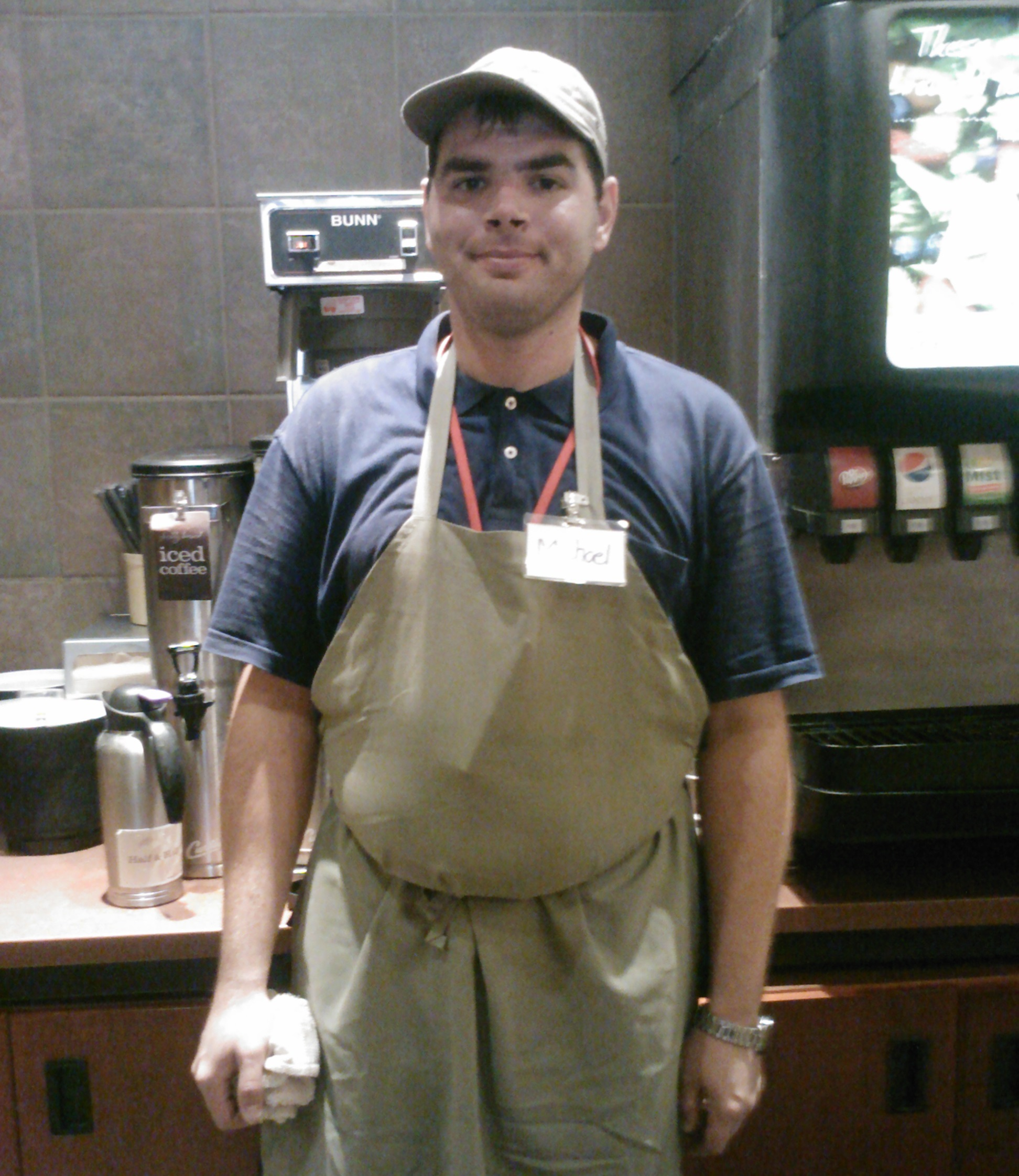 Mike at Panera Bread-Edina