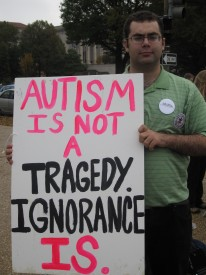 Ari Ne'eman expresses his views: Autism is not a tragedy. Ignorance is.